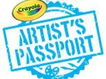 Week Long Workshop - Imagine Arts Academy Crayola Artist's Passport! June 10-14