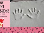 Clay Hand/Foot Event - Valentines Theme