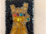 Kid's Fused Glass - Infinity Gauntlet Night Light - Morning Session - 10.24.18