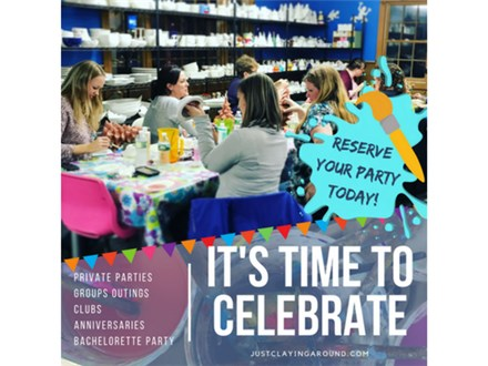 Book a Party Corporate Event