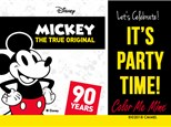 Mickey Mouse Party! Saturday, November 17th