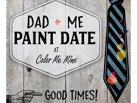 Dad + Me  Paint Date