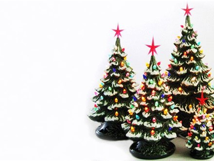Private Event: Paint Your Own Christmas Tree - Holly D.