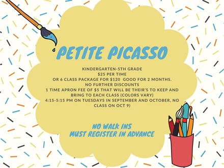 Petite Picasso: Characters