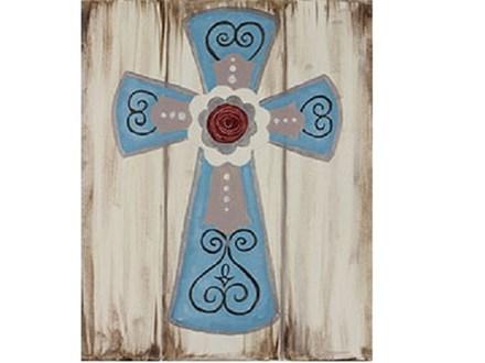 Canvas & Wine Night! Rustic Cross! 4/10/17
