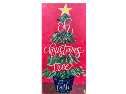 Oh Christmas Tree Paint Class - Perry
