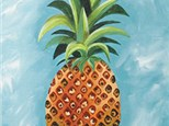 "Paint & Sip ""Pineapple"""