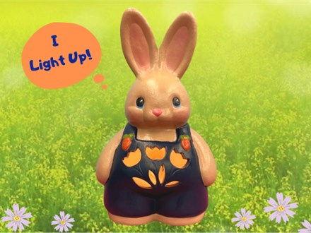 Light Up Ceramic Bunny Paint N Sip - March 26th