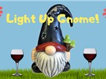 Light Up Gnome Paint N Sip at Monroeville Winery - May 8th