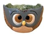 """ Happy Camper-Owl Bowl"" -at Color Me Mine - Aspen"