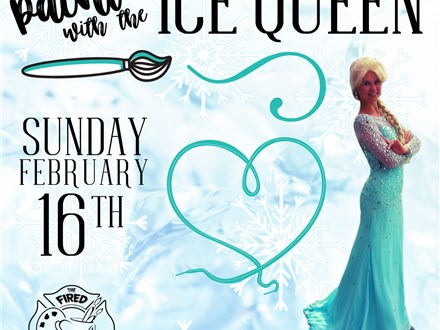 Paint with the Ice Queen!