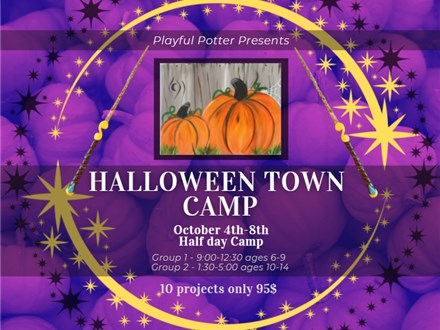 Halloween Town Camp (ages 10-14)