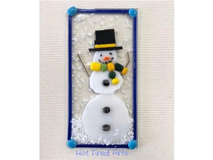 Kid's Glass Class: Snowman