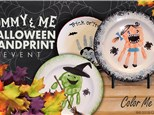 Oct 16th • Halloween Handprint Keepsake • Color Me Mine Aurora
