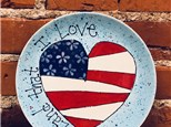 Patriotic Step-by-Step Painting Class!