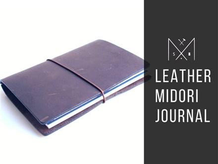 Leather Midori Journal