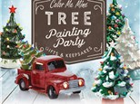 Vintage Tree Painting Party( Sunday, Nov 10th) at Color Me Mine - Aspen