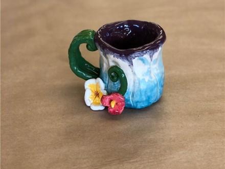 Family Clay - Flower Mugs - 06.23.19