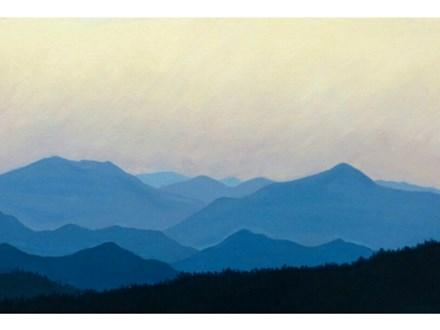 Blue Ridge Mountains  (10x20 canvas)