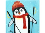 There's No Fun Like Snow Fun! Thurs. Dec. 28 at 7pm *Ages 13+ (12x12 canvas)