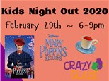 Kids Night Out Movie Feb 29th