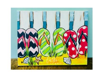 Flip Flop Paint Class