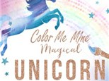 Unicorn Painting Party at Color Me Mine - Henderson, NV 01/19/19