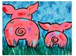 Pig Butts Paint Class