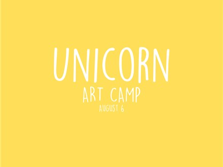 Unicorn Art Camp (Aug)