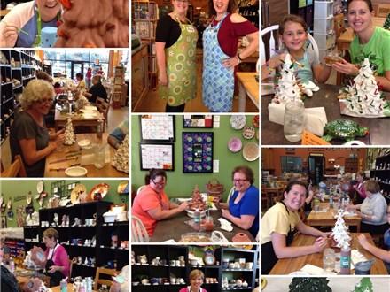 Christmas Tree Painting Workshop Nov 8th