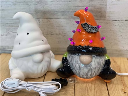 Spooky Lighted Gnome - 10.3.20