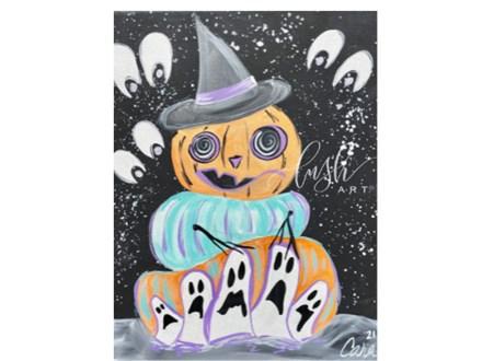 Pumpkin Stack Paint Class - PERRY