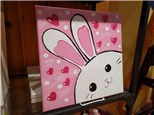 Bunny Canvas Class for Kids