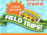 Field trips at Color Me Mine