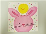 Peep Peep Bun Bun Kids Canvas Class (age 6 and up) $25