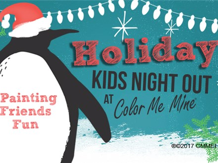 """Kids Night Out - """"Holidays"""" Dec. 20/19"""