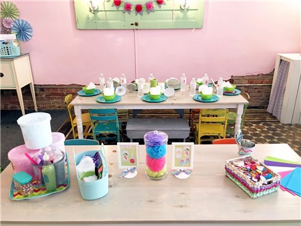 Sugarlicious Spa Party: $345 + tax ($100 non-refundable deposit)