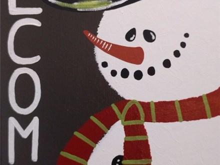 $25 Snowman Paint Night (Toni) 11/21 6-9PM
