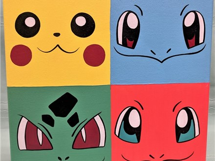 SOLD OUT Pokémon Summer Art Camp 2021 PM session