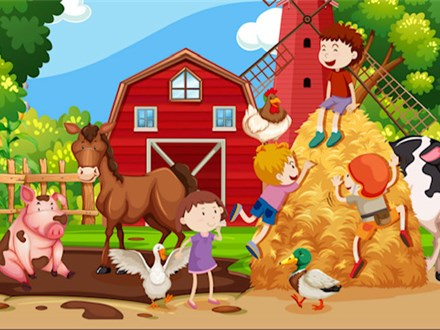 Sweet Reads Toddler/Parent Story time: A Day on the Farm