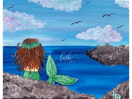 Mermaid Paint Class