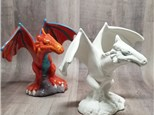 Fearsome Dragon Figurine - Ready to Paint