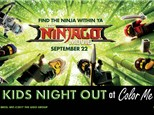 Kids Night Out: Ninjago - September 15, 2017