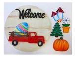 Welcome Truck Plaque Class