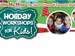 Holiday Kids workshop - December 26-28, 2018