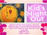 Kids Night Out-Valentine's Paint Party