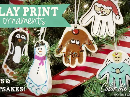Clay Ornaments:  Register Here