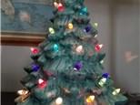 "Heirloom 10"" Light-Up Christmas Tree  - Ready to Paint"