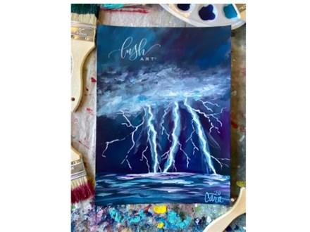 Lightning RECORDED Paint Class