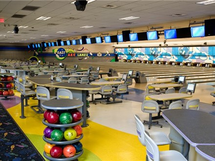 ABC East Lanes Weekday 9 AM - 5 PM Online Reservations